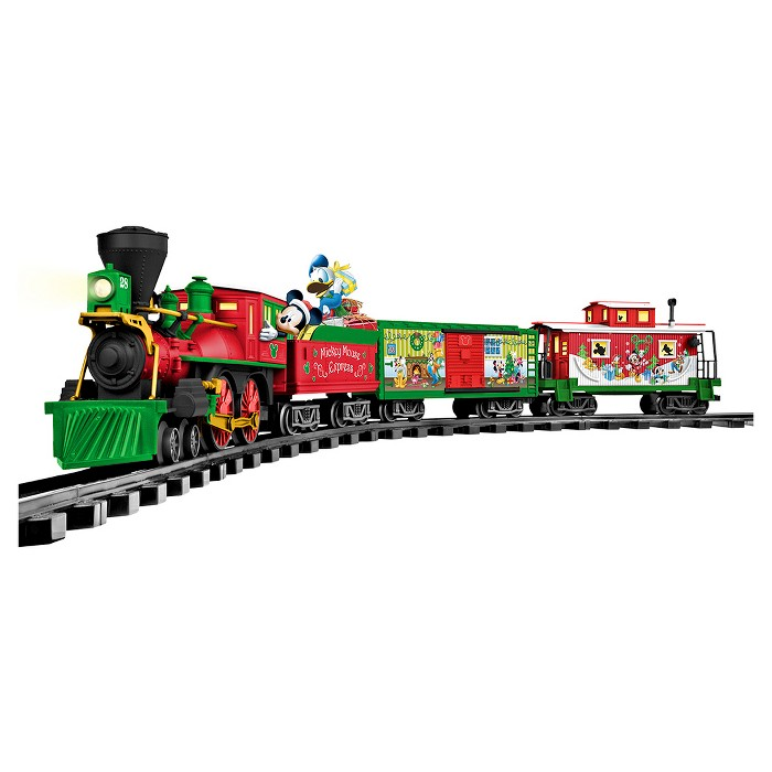 Lionel Mickey Mouse Christmas Express Ready-to Play Train Set - image 1 of 4