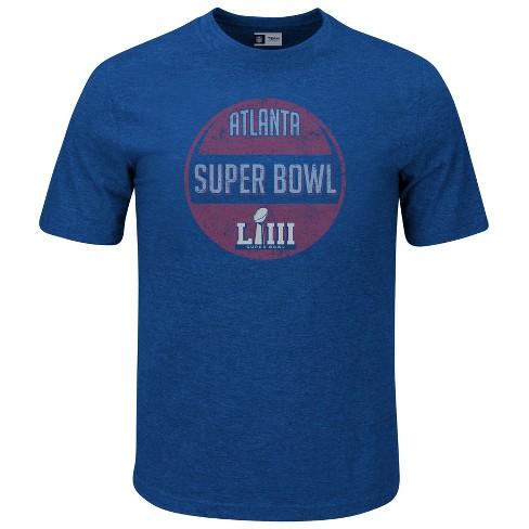 0469eaf6 NFL Super Bowl 53 Men's Short Sleeve Soft Pass T-Shirt : Target