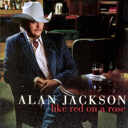 Alan jackson - Like red on a rose (CD) - image 1 of 1