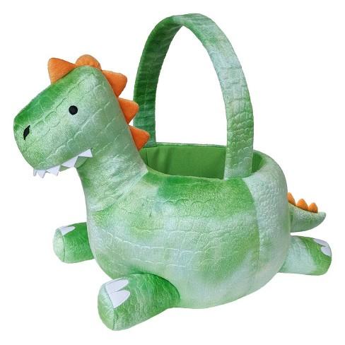 "8"" Plush Easter Basket Dinosaur - Spritz™ - image 1 of 1"