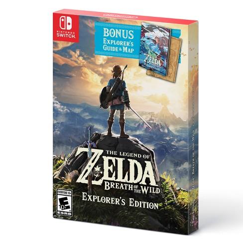 The Legend Of Zelda Breath Wild Explorers Edition
