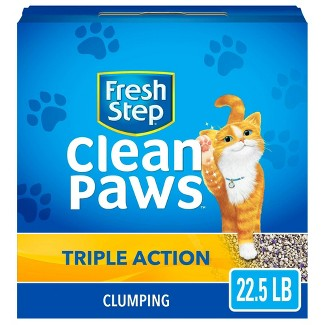 Fresh Step Triple Action Clumping Scented Cat Litter : Target