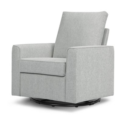 Million Dollar Baby Classic Alden Swivel Glider -Feathered Gray Weave