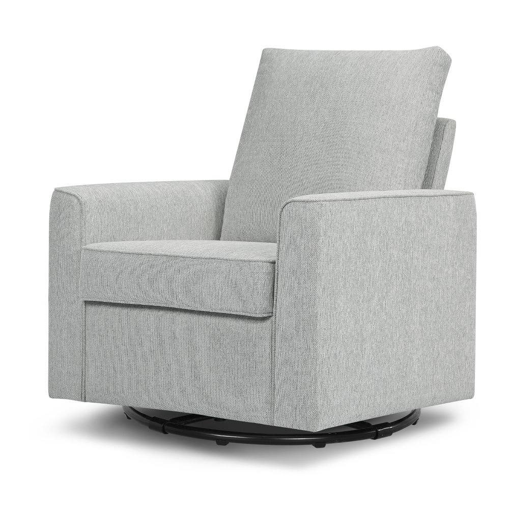Image of Million Dollar Baby Classic Alden Swivel Glider -Feathered Gray Weave