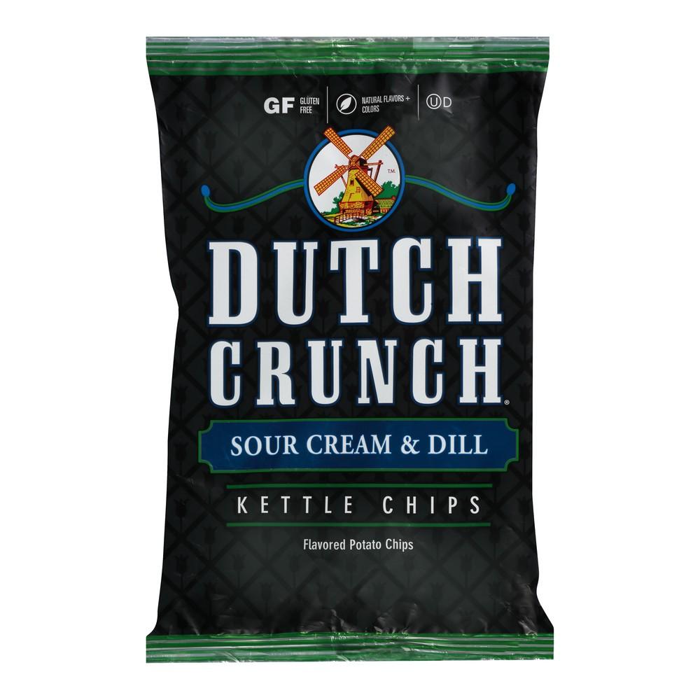 Old Dutch Crunch Sour Cream & Dill Kettle Potato Chips - 9oz