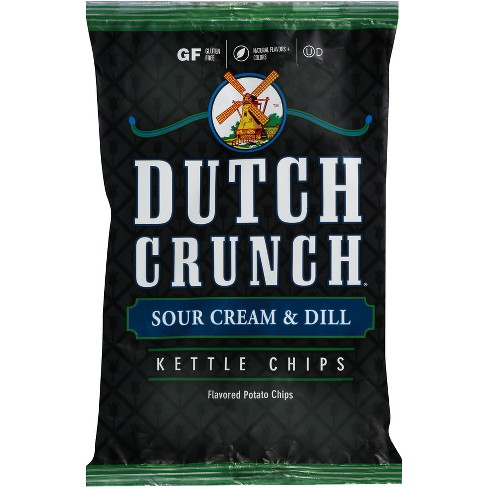 Old Dutch Crunch Sour Cream & Dill Kettle Potato Chips - 9oz - image 1 of 2
