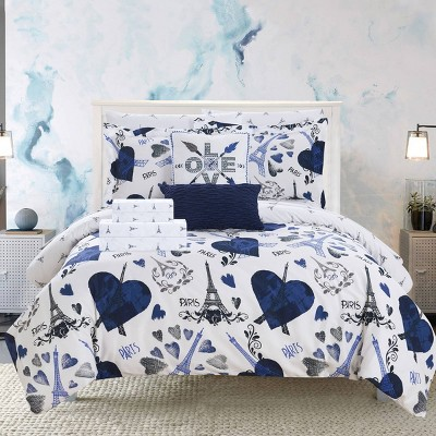 Chic Home Design Marais Bed In A Bag Comforter Set