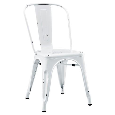 Metal Cafe Chair - Saracina Home - image 1 of 4