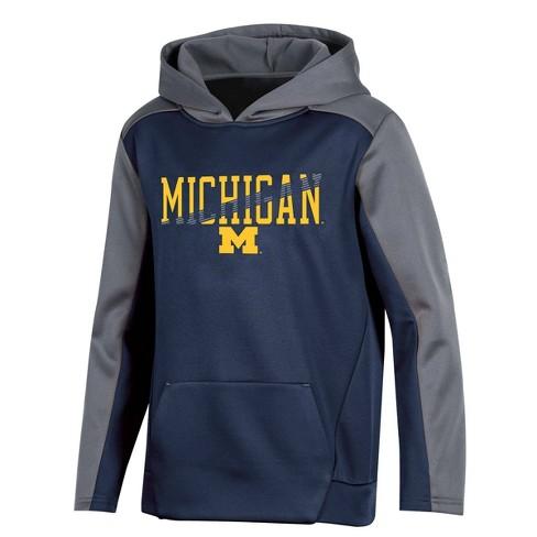 NCAA Michigan Wolverines Boys' Long Sleeve Pullover Hoodie  - image 1 of 2