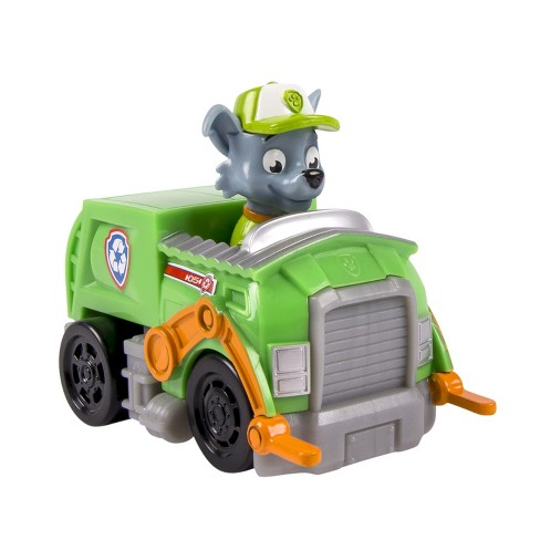 paw patrol racers rocky s recycling truck vehicle target