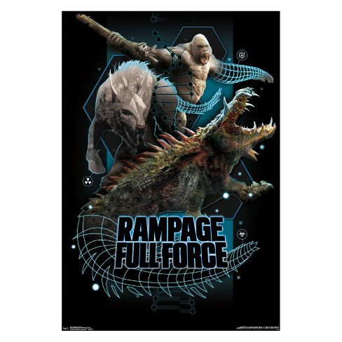 22 375 X 34 Rampage Full Force Unframed Wall Poster Print
