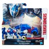 Transformers The Last Knight 1-Step Turbo Changer Cyberfire Optimus Prime - image 2 of 3