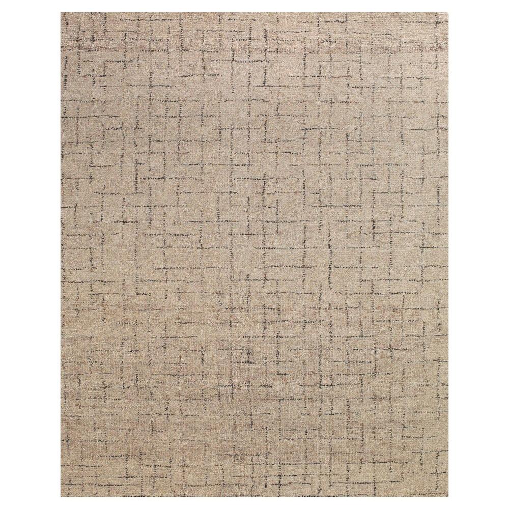 5'X8' Geometric Tufted Area Rugs Mushroom (Brown) - Room Envy