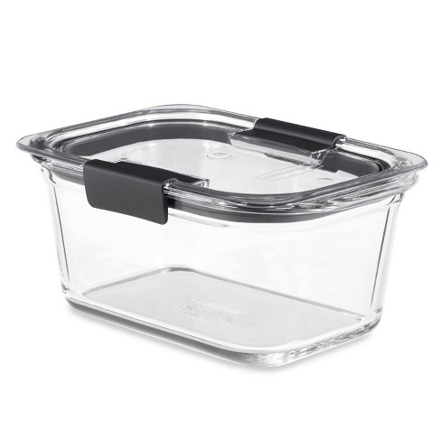 Rubbermaid OS 4.7 Cup/1.1 Liter Brilliance Glass - image 1 of 4