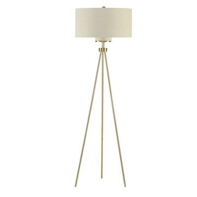 "20"" x 66.25"" Pacific Tripod Floor Lamp (Includes Energy Efficient Light Bulb)Gold"