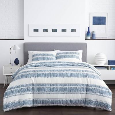 Full/Queen Enzo Comforter Set Blue - City Scene