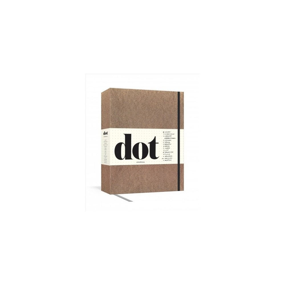 Dot Journal : Gold; Your Key to an Organized, Purposeful, and Creative Life - (Hardcover)