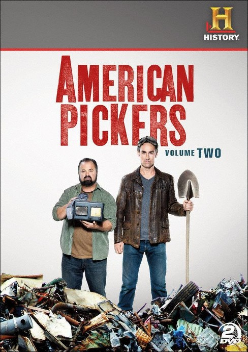 American pickers:Volume 2 (DVD) - image 1 of 1