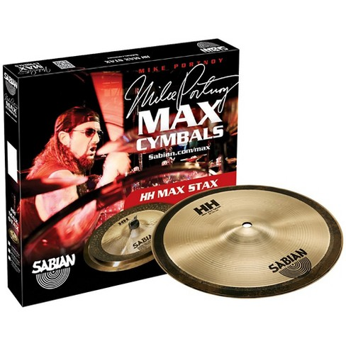 Sabian HH Mid Max Stax Cymbal Pack 10 in. Kang, 10 in. Crash - image 1 of 1