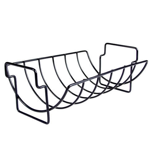Charcoal Companion® Non-Stick Reversible Grill Rib Rack/Roaster - image 1 of 4