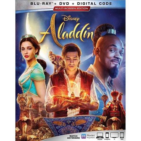 Aladdin (Live Action) (Blu-Ray + DVD + Digital) - image 1 of 2