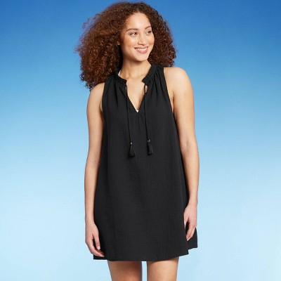 Women's Ruffle Tank Cover Up Dress - Kona Sol™