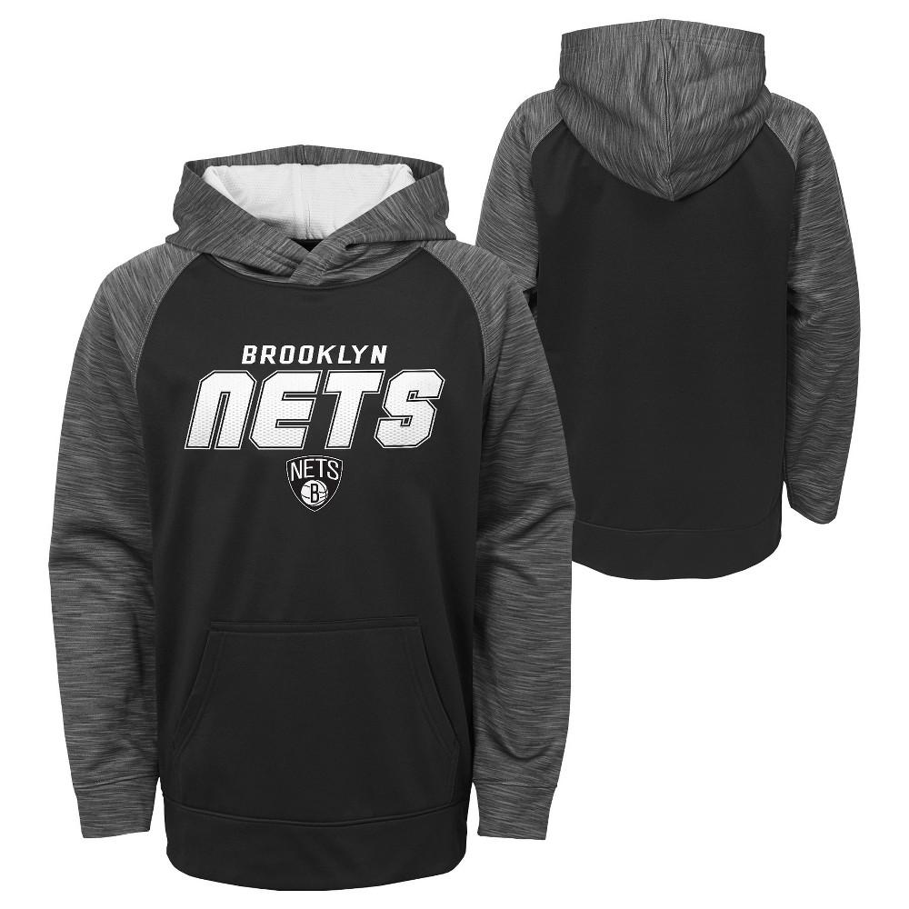 Brooklyn Nets Boys' Jump Shot Performance Hoodie XS, Multicolored