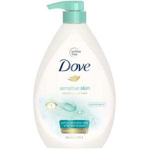 Dove Sensitive Skin Pump Body Wash - 34 fl oz