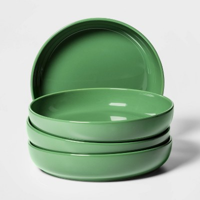 36oz 4pk Ceramic Avesta Dinner Bowls Green - Project 62™