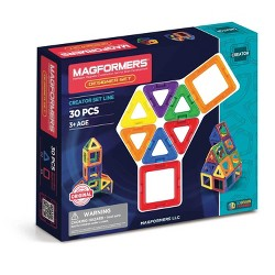 Magformers® Magnetic Power Magic Rainbow Set - 30 Piece