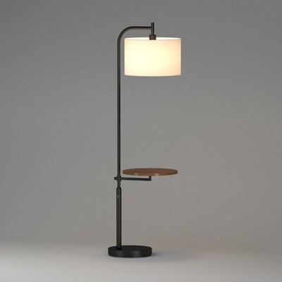 LED Shaded Floor Lamp Silver (Includes Energy Efficient Light Bulb)- Project 62™