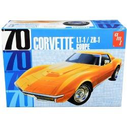 Skill 2 Model Kit 1970 Chevrolet Corvette LT-1/ZR-1 Coupe 1/25 Scale Model by AMT