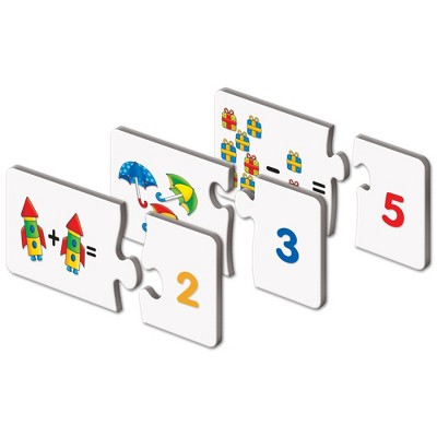 The Learning Journey Match It! Mathematics 30 self correcting puzzle sets