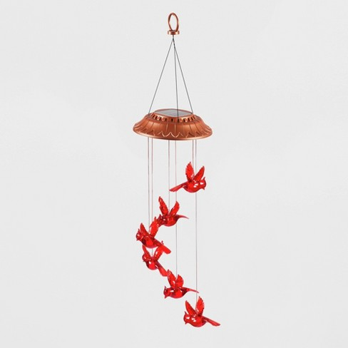"324"" Acrylic/Metal Solar Mobile Garden Days Cardinal Red - Evergreen - image 1 of 3"
