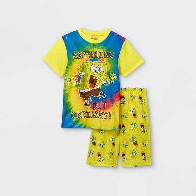 Boys' SpongeBob SquarePants 2pc Pajama Set - Yellow