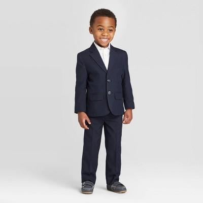 Toddler Boys' 2pc Jacket & Pants Suit Set - Cat & Jack™ Navy 4T