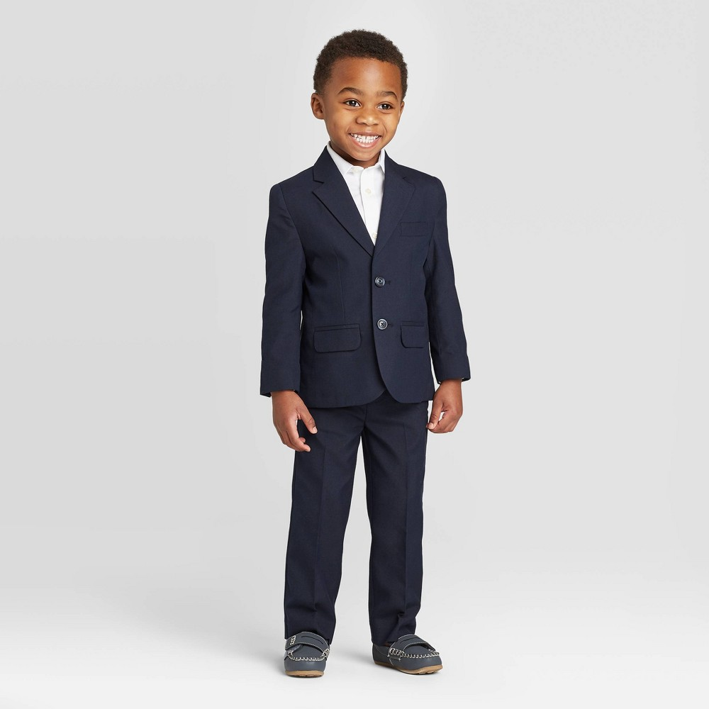 Toddler Boys 39 2pc Jacket 38 Pants Suit Set Cat 38 Jack 8482 Navy 3t