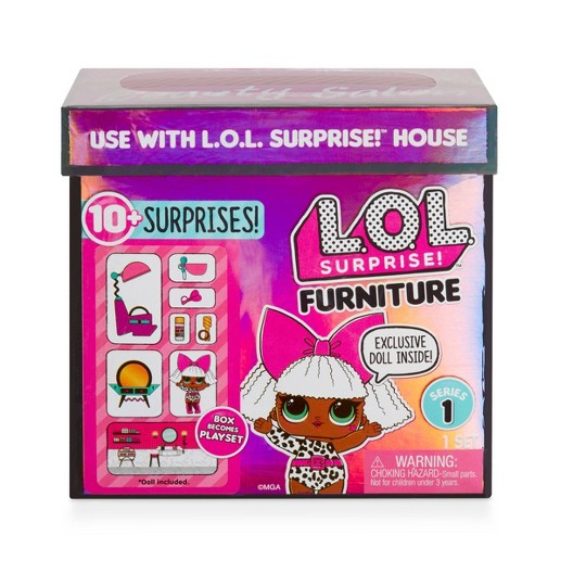 L.O.L. Surprise! Furniture with Salon & Diva image number null