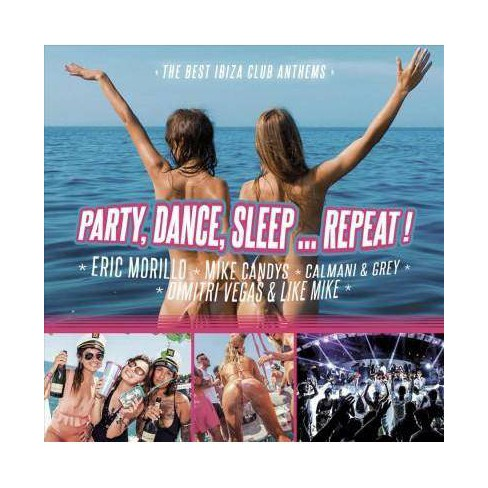 Various - Party, Dance, Sleep Repeat! (CD) - image 1 of 1