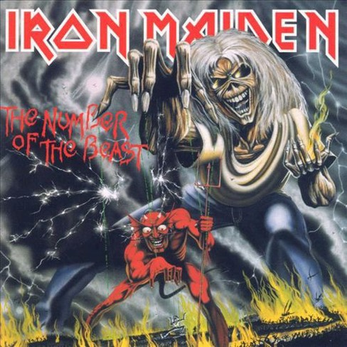 Iron maiden - Number of the beast (CD) - image 1 of 1