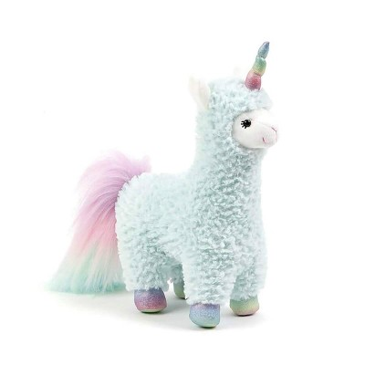 Enesco Cotton Candy Llamacorn 11 Inch Collectible Plush