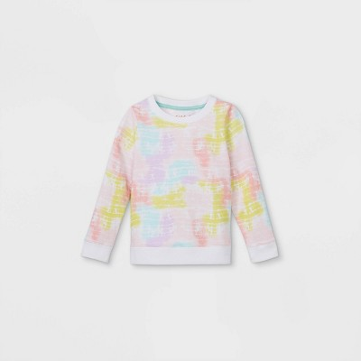 Toddler Girls' French Terry Pullover Sweatshirt - Cat & Jack™