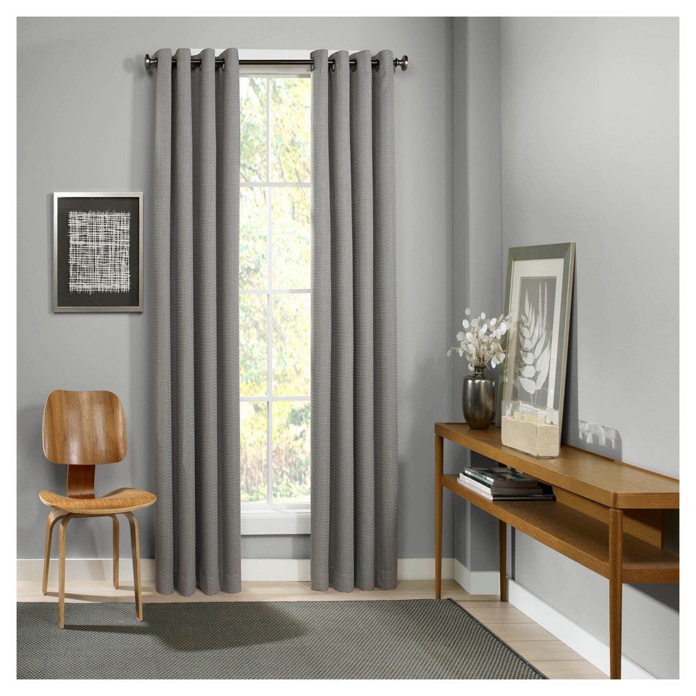 Palisade Thermalined Curtain Panel Gray (52x84) - Eclipse