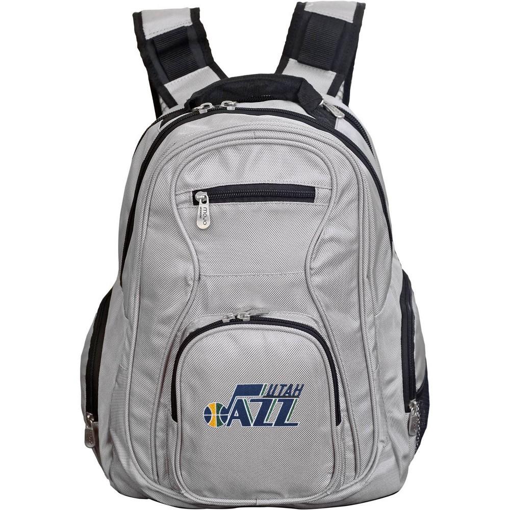 Nba Utah Jazz Gray Laptop Backpack