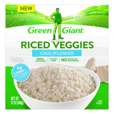 Green Giant Riced Veggies Frozen Cauliflower - 10oz