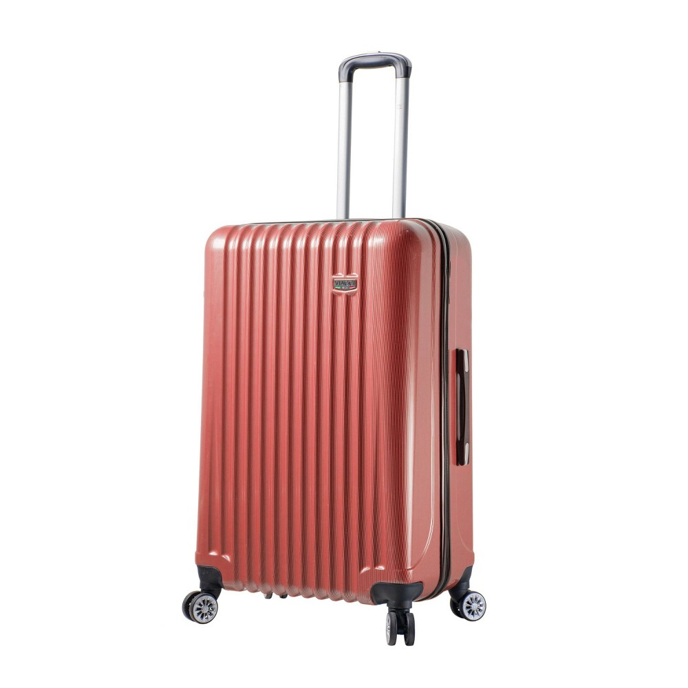 """Image of """"Mia Viaggi ITALY Lucca 28"""""""" Hardside Suitcase - Red"""""""