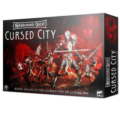 Warhammer Quest - Cursed City Board Game