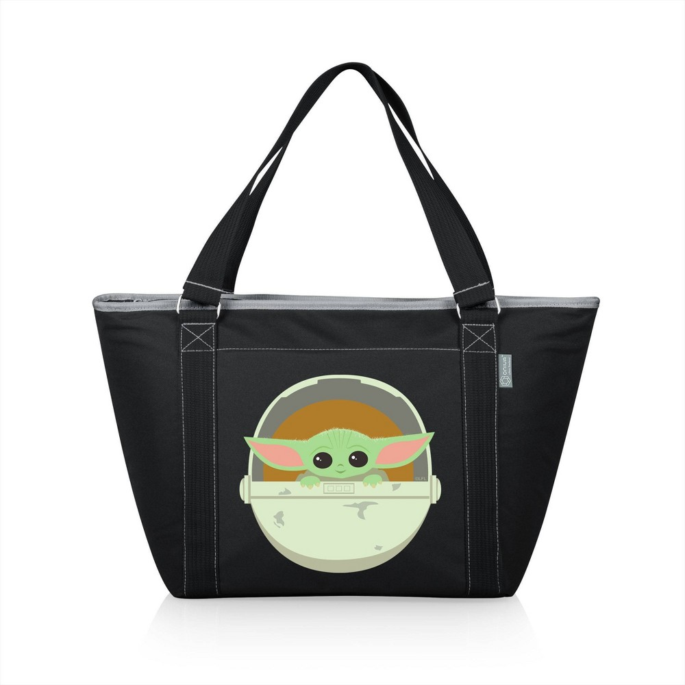 Picnic Time Star Wars The Mandalorian The Child Topanga Tote Cooler Bag Black