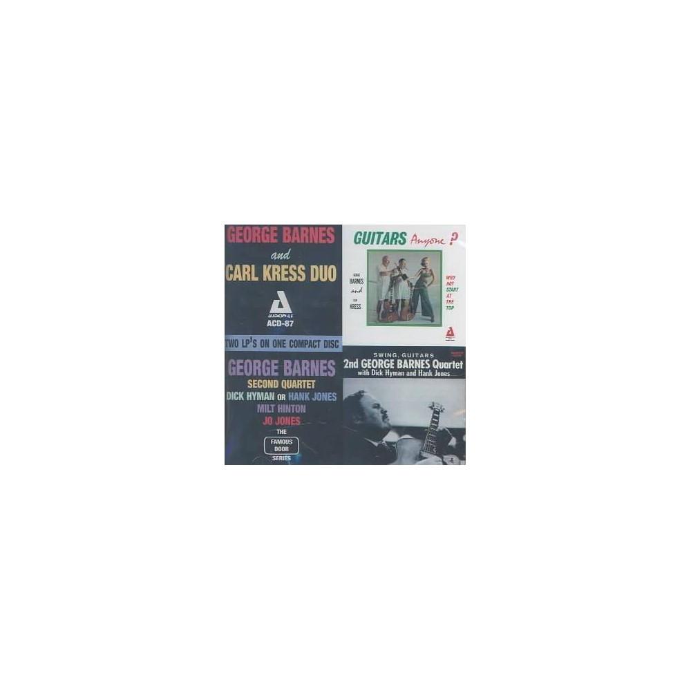 George Barnes - Guitars Anyone/Swing, Guitars (CD), Adult Unisex