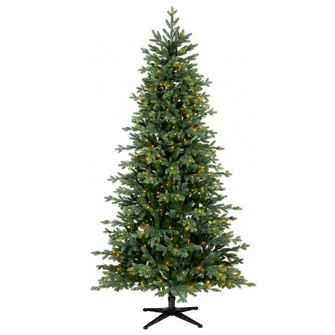 7ft prelit artificial christmas tree indexed balsam fir wondershop - 7ft Artificial Christmas Tree